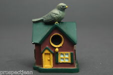 Lenox Bird House Collection Slate Coloured Junco Pottery Thimble B/123
