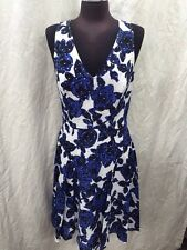 ADRIANNA PAPELL DRESS/NEW WITH TAG/RETAIL $149/SIZE 16/COTTON/SMOKE FREE/MACYS