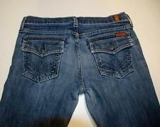 7 FOR ALL MANKIND Seven JEANS 28 X 29 Boot Cut Made in USA 2210