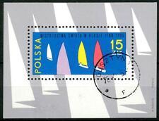"""POLAND - POLONIA - BF - 1965 - Campionati mondiali di vela in classe """"Finn""""."""