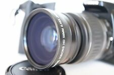 Macro Wide Angle Lens for Canon Eos Digital Rebel T5 sl1 XTi w/50MM 35MM 28MM