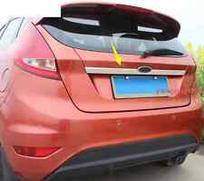 stainless steel Trunk Lid Cover Trim For Ford Fiesta 2012 2013 2014 2015 2016