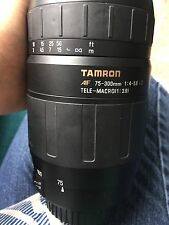 Tamron 70 - 300mm AF Telephoto Zoom Lens (62mm) For Canon Or Nikon