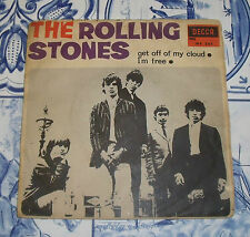 "THE ROLLING STONES ""GET OFF OF MY CLOUD/I´M FREE"" DE 7"" ESPAÑA 1965"