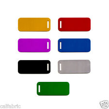 Personalized Metal Luggage Tags Free Engraved up to 5 LINES Plus Free Shipping