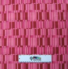 Valentine's Day Fabric - Westminster Pink Stripe - Free Spirit Cotton YARDS