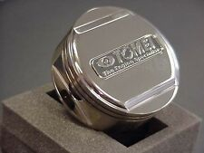 TOMEI OIL FILLER CAP FORGED PISTON for HONDA M32.P3.5 SILVER CHROME-193056