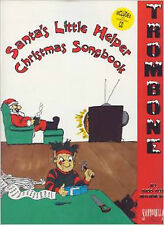 Santa's Little Helper Trombone Christmas Songbook CD All Bass Clef Instruments