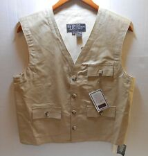 Karachi Cloth New York Sportswear Exchange Men's Medium Vest New Old Stock Vtg.