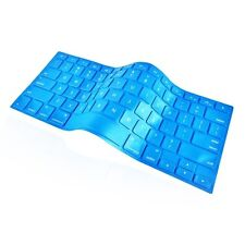 "Shimmering Ocean Blue Keyboard Cover Skin for Apple Macbook Pro 13"" 15""17"""