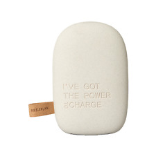 NEW KREAFUNK TOCHARGE POWERBANK PORTABLE BATTERY CHARGER  6000Mah LIGHT GREY