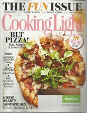 Cooking Light July 2014 The Fun Issue/Slider Party/Pie On A Stick/Slushies