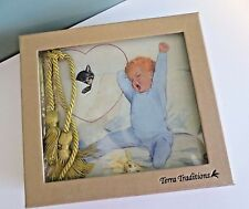 "Awesome NEW in Box TERRA TRADITIONS Baby Boy 50 Page Photo Album - 4 x 6"" Photos"