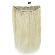 140g Thick One Piece Clip in Remy Human Hair Extensions Full Head Set 100% Real