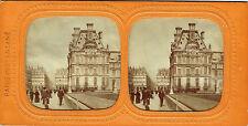 Vue stéréos panoptique : Paris Instantané ; Pavillon de Marsan , Louvre