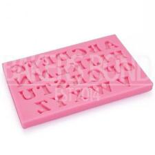 Uppercase Alphabet Capital Letters Fun Birthday Cake Name Topper Silicone Mould