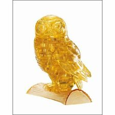 3D Crystal Owl Puzzle