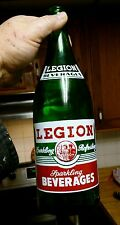 Quart sized Framingham, Massachusetts Legion Beverages ACL soda bottle