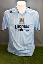 Manchester City Football Shirt Adult L Home 07/08 WTags Le Coq Sportif