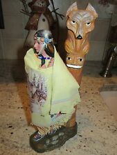 Guiding Spirit from the Spirit of the Wolf Collection Ashton Drake new in box