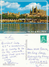 1990's THE CATHEDRAL PALMA MALLORCA SPAIN COLOUR POSTCARD
