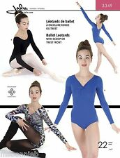 Jalie Ballet Leotards w/Scoopneck or Twist-front Sewing Pattern 3349 Women Girls