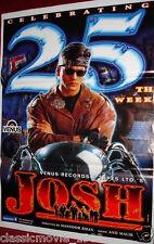 JOSH (2000) BOLLYWOOD MOVIE POSTER # 4 SHAH RUKH KHAN AISHWARYA RAI
