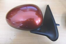 MG ZS/ Rover 45 Drivers Off Side O/S Manual Wing Mirror Firefrost Red CEV
