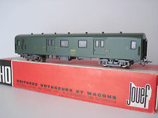 FOURGON A BAGAGES UIC Dd4s SNCF - JOUEF - REF 5295 - ECHELLE HO