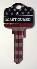 COAST GUARD BLANK HOUSE KEY FOR 5 PIN KWIKSET KW1 CAN BE PUNCHED TO YOUR CODE