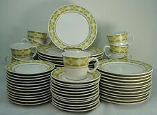 NORITAKE china SUNGLOW 9042 pattern 60-piece SET SERVICE for Twelve (12)