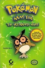 POKEMON MASTER THE ULTIMATE QUIZ TV SHOW GAME NINTENDO