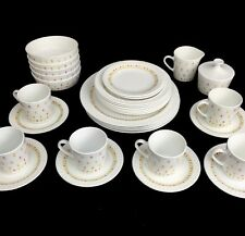 Vintage Corning Ware Centura April Tulip Dinnerware China 33 Pieces Hard To Find