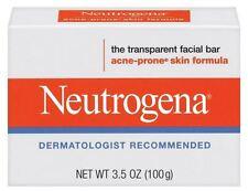 Neutrogena Acne Prone Skin Formula Facial Bar 3.50 oz (Pack of 7)