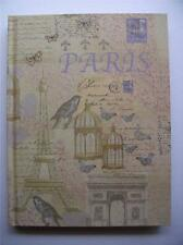 Notebook Journal Writing Paper New A6 Paris Design Diary Travel Hard Cover Lined