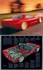 1998 1999 C5 Corvette Dealer Advertising Poster Cut-a-Way Promo GM OEM part Z06