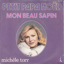 Disque 45 tours Michèle TORR Petit papa Noël 1977