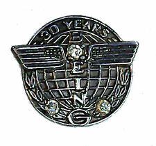 Boeing 30 Year Service Gold Pin Airliner Mechanic Engineer Employee Pilot Crew B