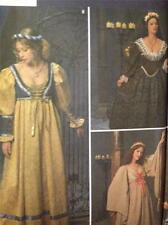 Simplicity Sewing Pattern No 8192 Ladies/Misses Medieval Dresses Size 16-20