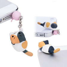 3.5mm Lovely Toy Charm Poodle Doggie Dog Dust Plug for iPhone and Other Phone
