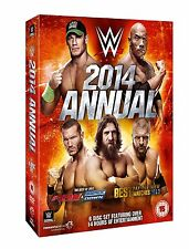 WWE 2014 ANNUAL BOX 5 DVD Wrestling NEW .cp