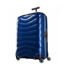 "NEW DEEP BLUE Samsonite Black Label Firelite 20"" Spinner Luggage Curv Carry-on"