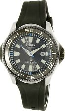 Citizen Men's Eco-Drive BN0085-01E Black Rubber Eco-Drive Watch