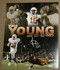 Vince Young Signed 16x20 Photo PSA/DNA I21033 Longhorns