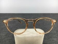 Oliver Peoples Riley-K Translucent Eyeglasses 48-21-146 Round Frames Only 1935