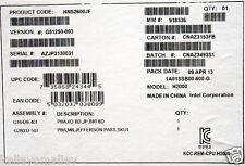 Intel HNS2600JF Compute Module 2U Rack, Socket R New Bulk Packaging