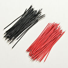 400PC Black Red Kit Motherboard Breadboard Jumper Cable Wires Set Tinned 5cm   X
