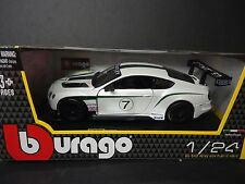 Bburago Bentley Continental GT3 Race Car 1/24
