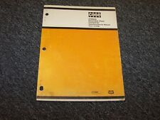 Case ATN500 Reversible Plate Compactor Owner's Owner Operator Maintenance Manual