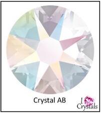 CRYSTAL AB Clear 16ss 4mm 144 pieces Swarovski Flatback Rhinestones 2088 Xirius